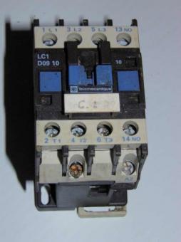 Telemecanique LC1-D0910 Contactor
